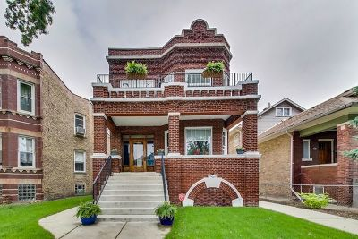Chicago, Aurora, Elgin, Hammond, Joliet, Kenosha, Michigan City, Naperville Multi Family Home New: 4045 North Leclaire Avenue