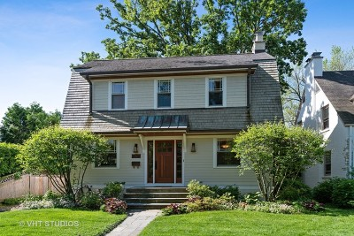 Wilmette Single Family Home New: 2107 Thornwood Avenue