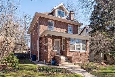 Evanston Single Family Home For Sale: 833 Lincoln Street
