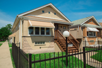 Chicago, Aurora, Elgin, Hammond, Joliet, Kenosha, Michigan City, Naperville Single Family Home New: 8024 South Damen Avenue