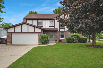 McHenry Single Family Home Price Change: 5502 Abbey Drive