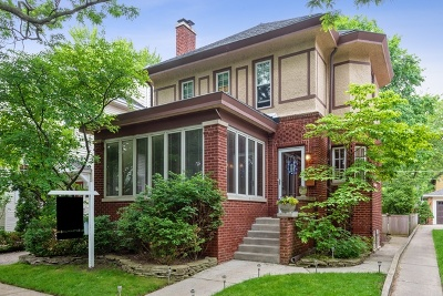 Wilmette Single Family Home For Sale: 111 Dupee Place