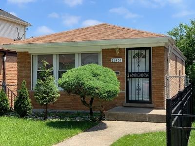 Chicago, Aurora, Elgin, Hammond, Joliet, Kenosha, Michigan City, Naperville Single Family Home New: 11451 South Vincennes Avenue