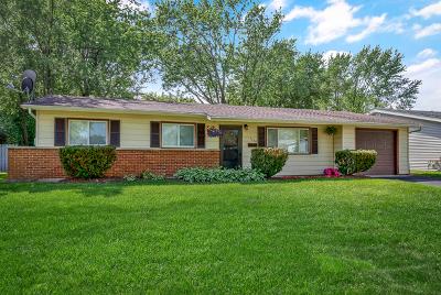 Hanover Park Single Family Home New: 7102 Orchard Lane