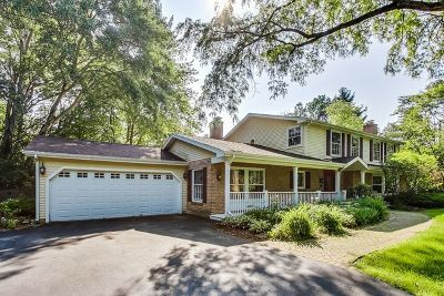 Barrington Hills Single Family Home For Sale: 13 Hawthorne Road
