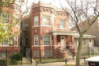 Cook County Multi Family Home Re-Activated: 637 North Monticello Avenue