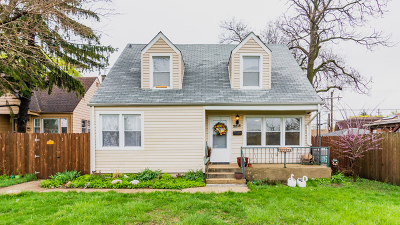Franklin Park IL Single Family Home For Sale: $219,900