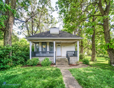 Lockport Single Family Home For Sale: 114 Dellwood Avenue