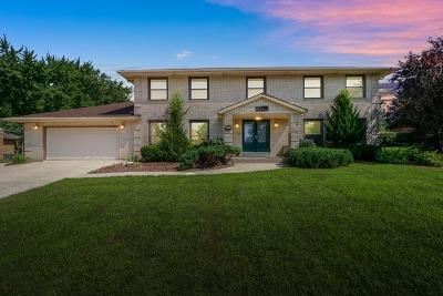 Homer Glen Single Family Home New: 13552 South Kerry Lane