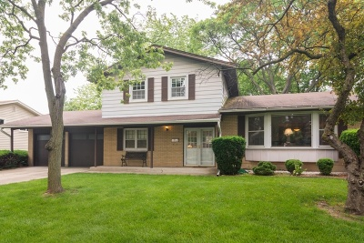 Palatine Single Family Home Price Change: 50 North Wilke Road