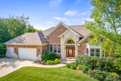 West Dundee Single Family Home New: 1058 Chateau Bluff Lane