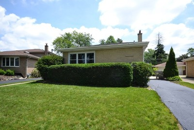 Oak Lawn Single Family Home New: 10625 South Kolin Avenue