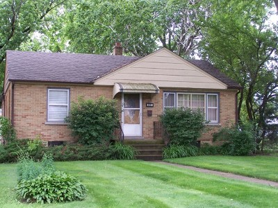 McHenry Single Family Home For Sale: 3911 Clearbrook Avenue