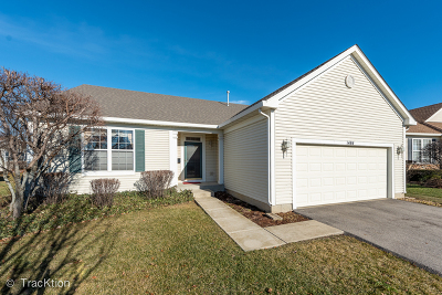 Romeoville Single Family Home New: 1484 West Grand Haven Road