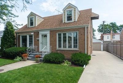 Chicago Single Family Home New: 5747 North Oriole Avenue