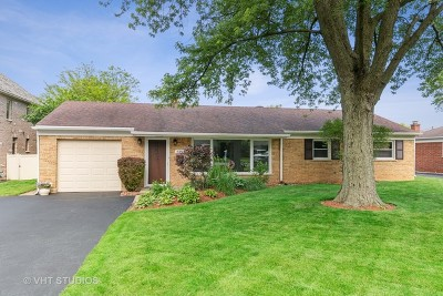 Glenview Single Family Home For Sale: 811 Wedel Lane