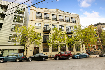 Chicago Condo/Townhouse New: 1521 West Haddon Avenue #4D