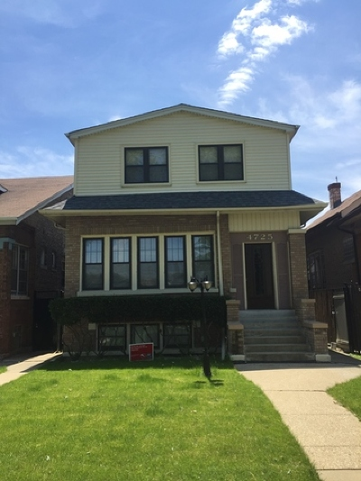 Chicago Multi Family Home New: 4725 West Parker Avenue