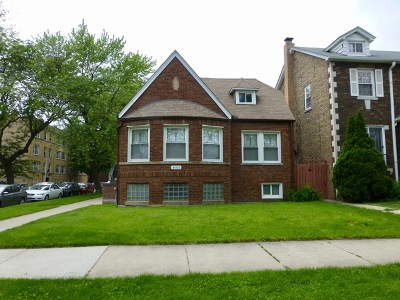 Chicago Single Family Home New: 4900 North Hamlin Avenue
