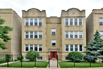 Condo/Townhouse For Sale: 4051 North Mozart Street #3N