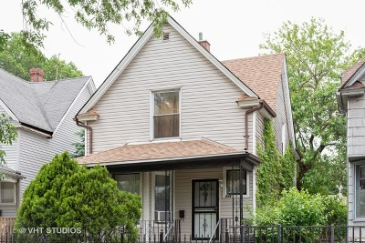 Chicago Single Family Home New: 848 North Lawler Avenue