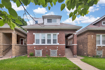 Chicago Single Family Home New: 2247 North Laporte Avenue