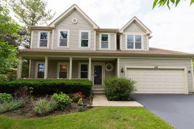 Grayslake Single Family Home For Sale: 297 North Cambridge Court
