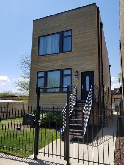 Chicago Single Family Home New: 4140 South Calumet Avenue