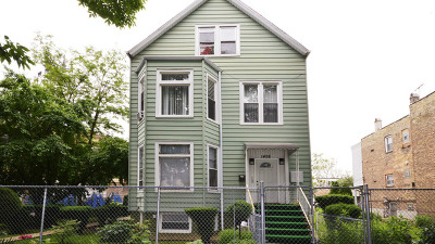 Chicago Multi Family Home New: 1458 North Karlov Avenue