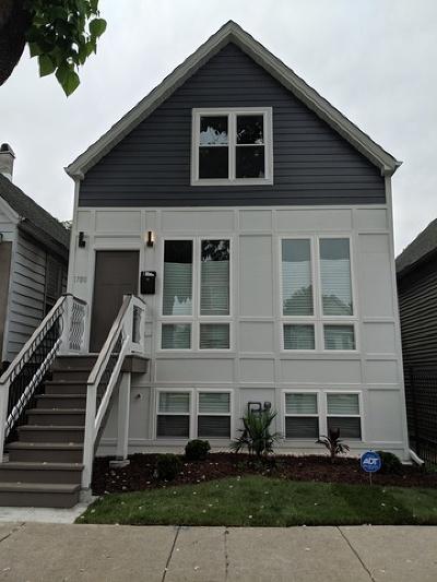 Chicago Single Family Home New: 1708 North Tripp Avenue