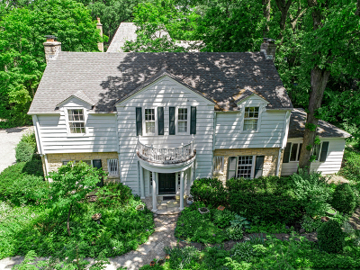 Hinsdale Single Family Home New: 429 South County Line Road