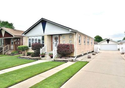 Chicago Single Family Home New: 5110 South Nashville Avenue