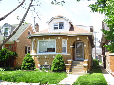 Chicago Single Family Home New: 3236 North Neva Avenue