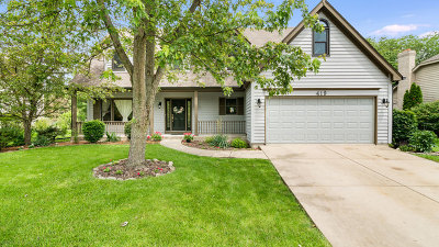 Single Family Home New: 419 Knoch Knolls Road