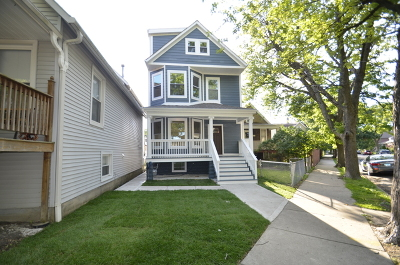 Chicago Single Family Home New: 4504 North Keokuk Avenue