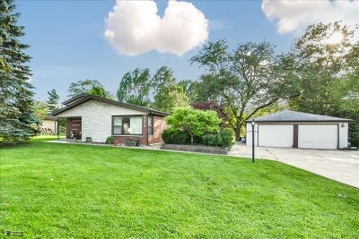 Oak Forest Single Family Home For Sale: 15616 Leclaire Avenue