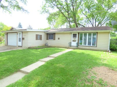Carpentersville Single Family Home New: 151 Sioux Avenue