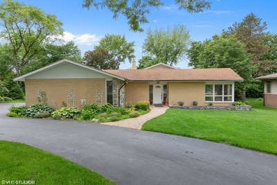 Oak Brook Single Family Home New: 5 Dover Drive