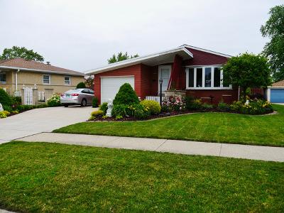 Oak Lawn Single Family Home New: 10009 South Kilbourn Avenue