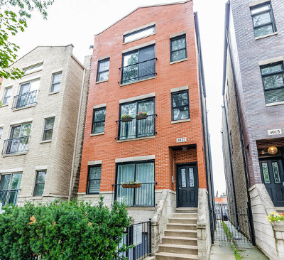 Condo/Townhouse New: 3017 North Damen Avenue #3