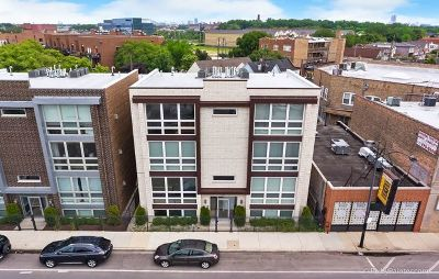 Chicago Condo/Townhouse New: 3209 North Elston Avenue #3N