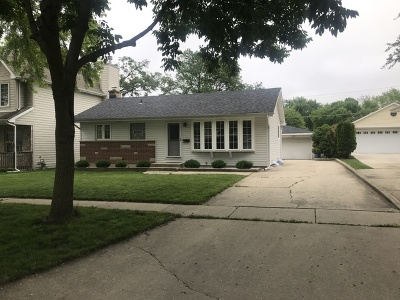 Du Page County Single Family Home New: 233 Parkside Avenue