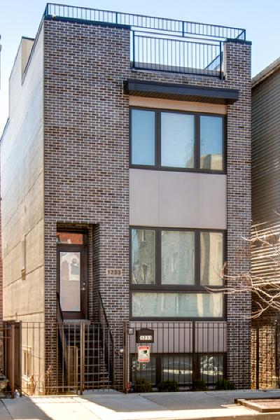 Chicago Single Family Home New: 1233 West Ohio Street