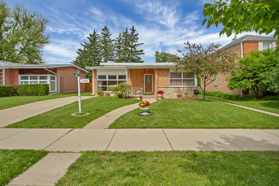 Lincolnwood Single Family Home New: 7328 North Keeler Avenue