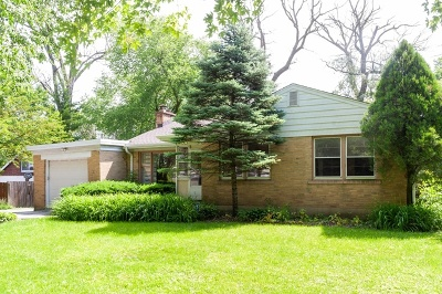 Highland Park Single Family Home New: 1491 Deerfield Place