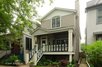 Chicago Single Family Home New: 1445 West Pensacola Avenue