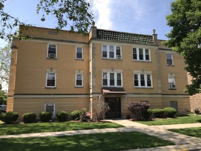 Cook County Condo/Townhouse New: 1944 Wesley Avenue #102