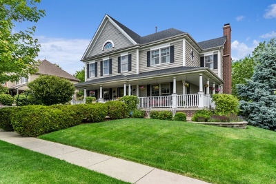 Geneva Single Family Home New: 39w182 Warner Lane