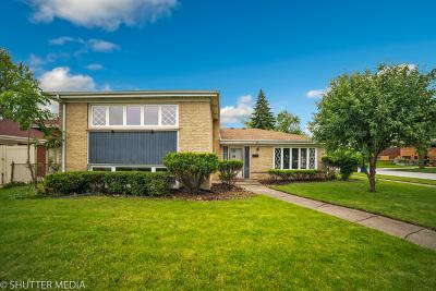 Oak Lawn Single Family Home New: 4537 West 101st Place