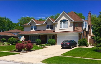 Darien Single Family Home For Sale: 18w046 Holly Avenue